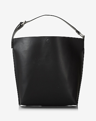 Express Womens Buckle Tote at Express