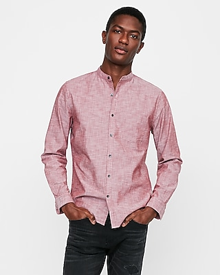 Etounes mens big tall button front denim shirt for Mens xxl tall shirts