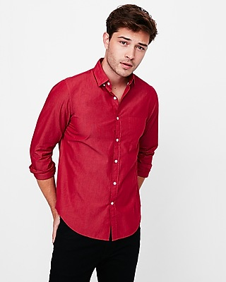Express Mens Classic Fit Soft Wash Shirt