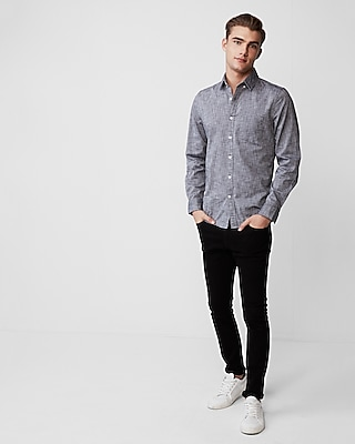 Express Mens Classic Fit Soft Wash Cotton Shirt