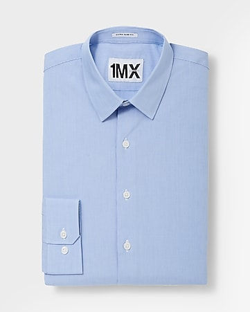 slim 1MX mini stripe shirt