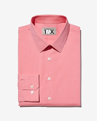 Express Mens Classic Easy Care Textured 1Mx Shirt