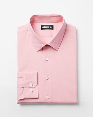 Express Mens Slim Easy Care Textured 1Mx Shirt