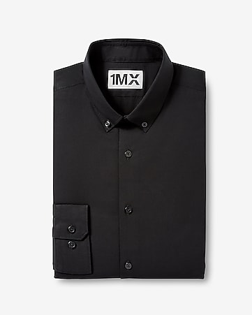 fitted 1MX dress shirt