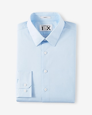 Slim Fit Micro Dot 1MX Dress Shirt