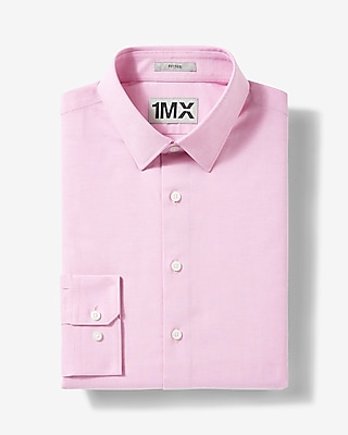 Express Mens Slim Easy Care Oxford 1Mx Shirt