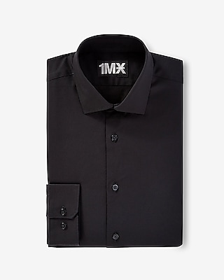 Express Mens Modern Fit Spread Collar 1Mx Shirt