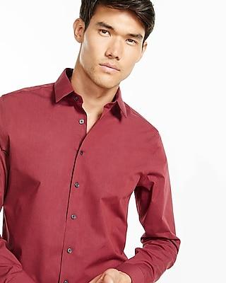Express Mens Modern Fit 1Mx Heathered Shirt