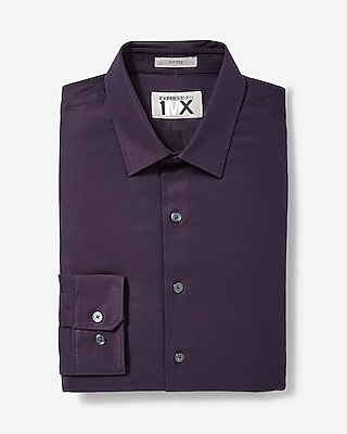 Express Mens Slim Easy Care 1Mx Shirt