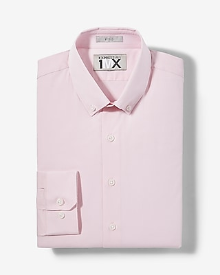 Express Mens Slim Easy Care End-On-End 1Mx Shirt