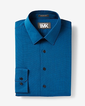 1MX athletic fit dress shirt
