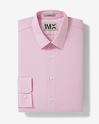 Express Mens Slim Mini Stripe 1Mx Shirt