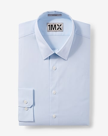 fitted mini stripe 1MX shirt