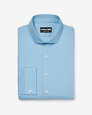 Express Mens Classic Stretch Cotton French Cuff 1Mx Shirt