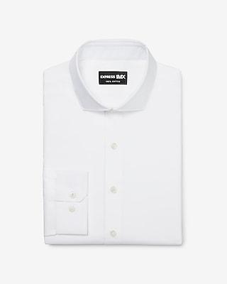 Express Mens Extra Slim Stretch Cotton Spread Collar 1Mx Dress Shirt