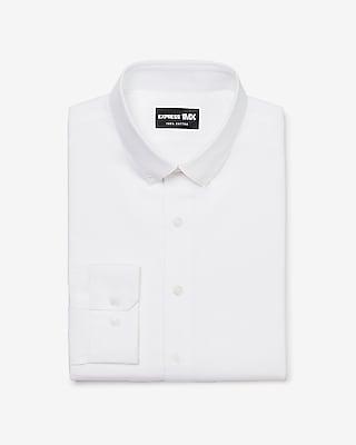 Express Mens Slim Stretch Cotton Button-Down 1Mx Dress Shirt