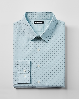 Etounes Express Mens Slim 1mx Mini Stripe Shirt Blue Xxl