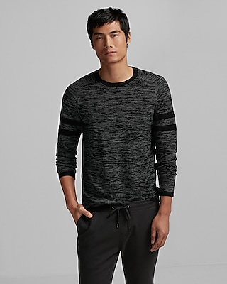 Express Mens Athletic Crew Neck Sweater