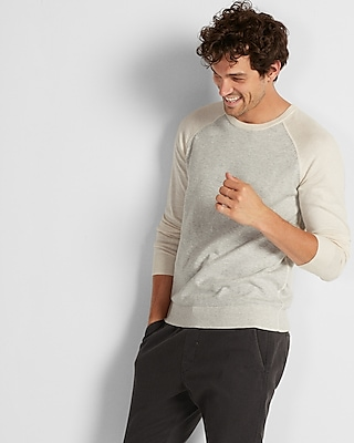 Express Mens Reversible Crew Neck Sweater