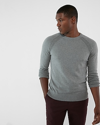 Express Mens Cashmere Blend Crew Neck Sweater