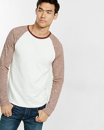 double knit baseball tee