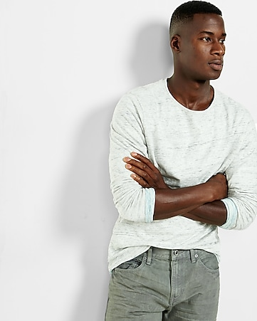 express one eleven reversible long sleeve tee