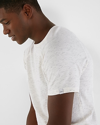 Express Mens Flecked Jersey Crew Neck Tee