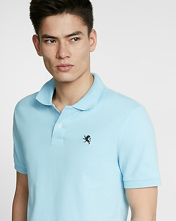 flex stretch small lion pique polo
