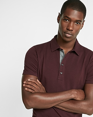 Express Mens Express Tech Polo