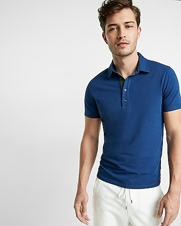 express tech polo
