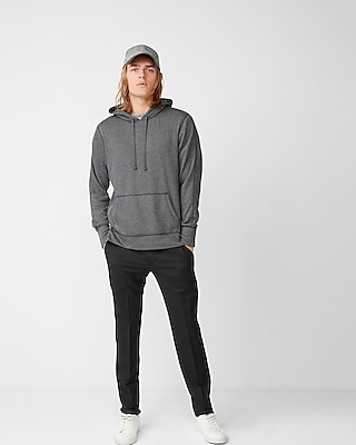 Express Mens Side Zip Popover Hoodie