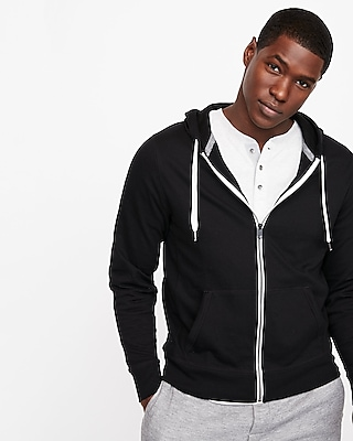 Express Mens Fleece Full Zip Hoodie