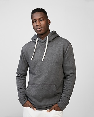 Express Mens Vintage Fleece Hoodie