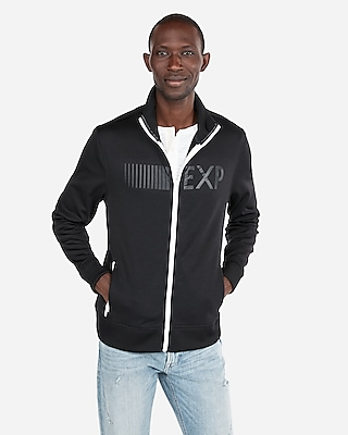 Express Mens Exp Graphic Track Jacket
