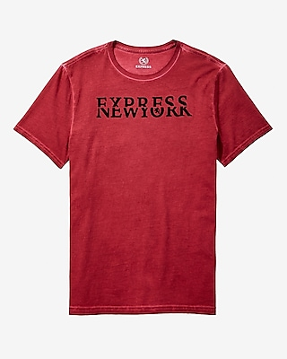 express new york graphic tee