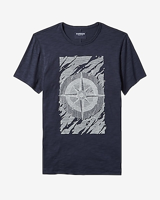 Express Mens Compass Graphic Tee