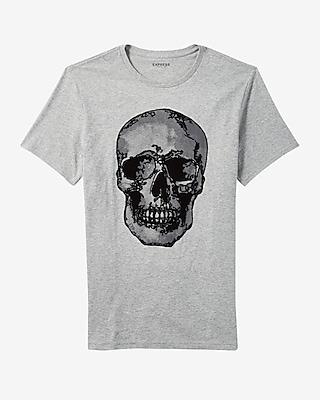 Express Mens Skull Graphic Tee
