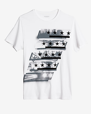 Express Mens Night Watch Graphic Tee