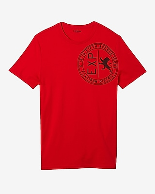 Express Mens Exp Seal Crew Neck Graphic Tee