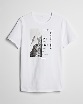 Express Mens Split Nyc Graphic Tee