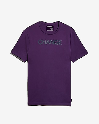 Express Mens Change Raised Graphic Tee