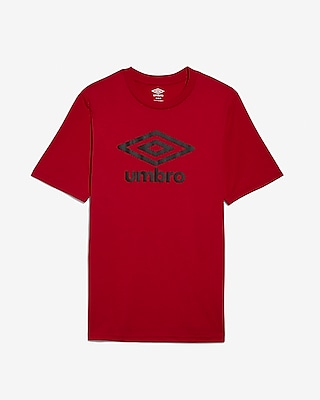 Express Mens Red Umbro Diamond Ultra Tee