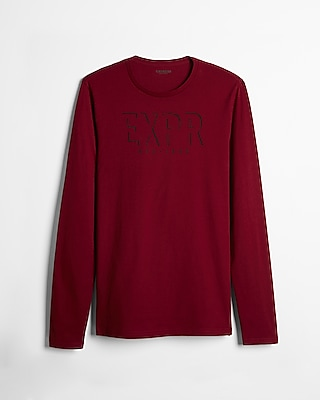 Express Mens Exp Long Sleeve Graphic Tee