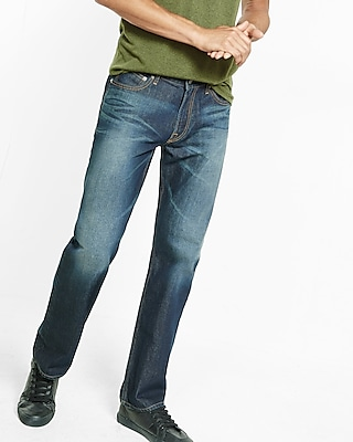 Loose Boot Dark Wash Jeans