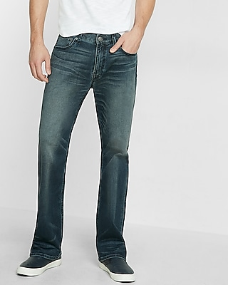 Loose Boot Stretch Jeans