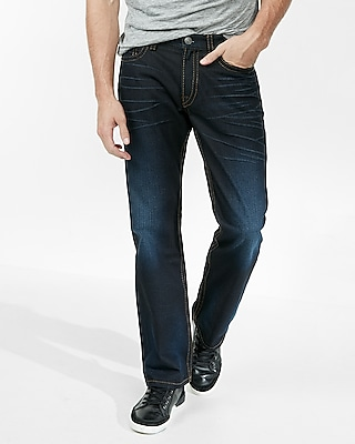 Loose Boot Super Thick Stitch Jeans