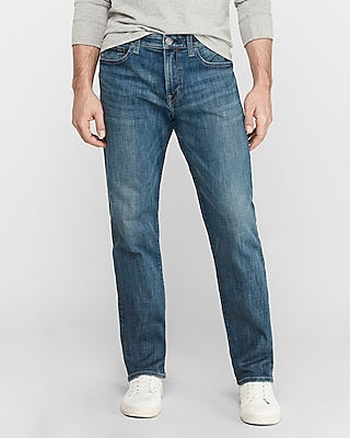 Express Relaxed Medium Wash Hyper Stretch Jeans