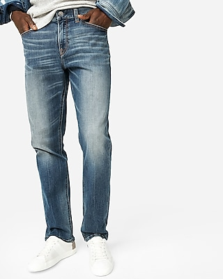 Express Mens Classic Slim 365 Comfort Eco-Friendly Jeans