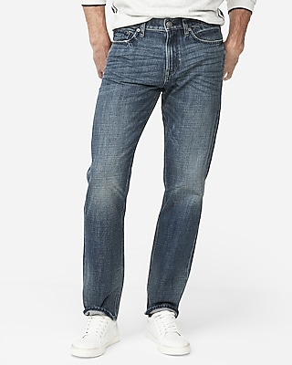 Express Mens Classic Straight Original Soft Cotton Jeans