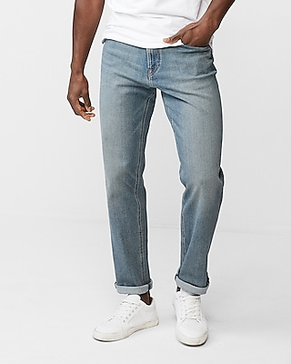 Express Mens Classic Straight 4 Way Stretch+ 365 Comfort Jeans